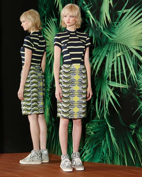 Hawaiian Mod Fashion - The Nicole Miller Resort 2015 Collection is Full of Bold Tropical Prints