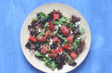 Festive Fruity Salads - These Dressing and Salad July 4th Recipes Look Good and are Good For You