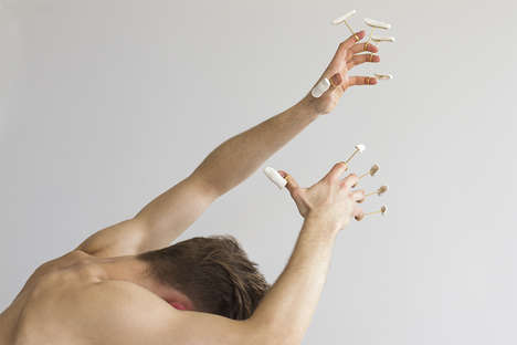Wearable Porcelain Body Parts - Daniel Ramos Obregon Likens His Work to Out-of-Body Experiences