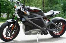 Electric Motorcycles - Harley-Davidson Debuts an Eco-Friendly Ride for Bikers