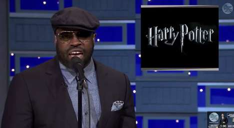 Midnight Wizard Raps - The Roots Raps Harry Potter On The Tonight Show