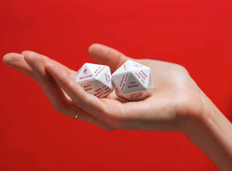 Advertising Advice Dice - The Fuzzco Pocket Art Director Offers Impersonal Creative Direction