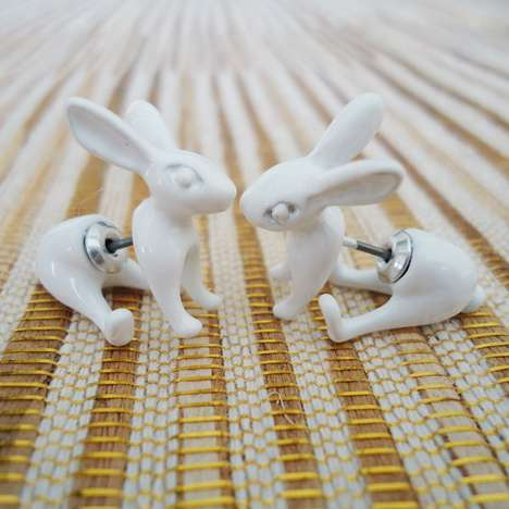 Rabbit Hole Earrings - These Alice-Inspired Accessories Will Not Make You Look Like a Mad Hatter