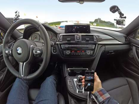 Camera-Embedded Cars - BMW is Integrating GoPro Action Cameras Into its Cars