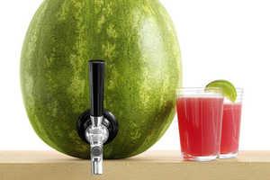 KegWork's Watermelon Tap Kit Turns Your Melon into a Fruity Keg