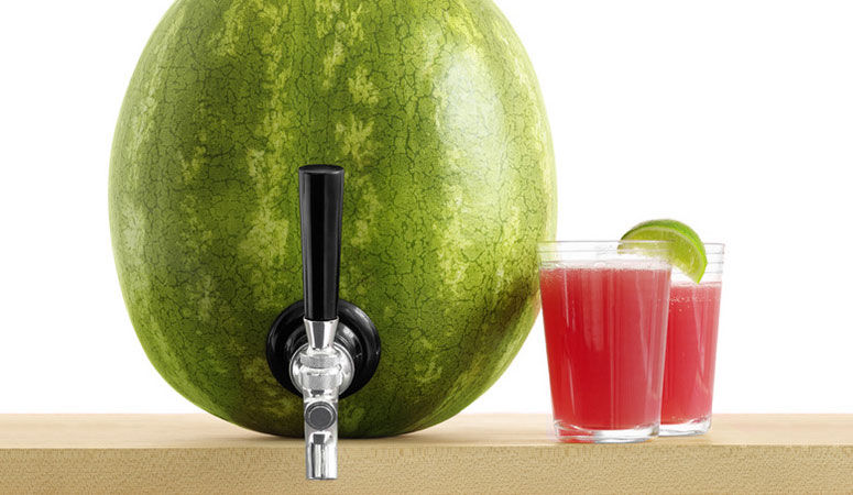 Watermelon Juice Dispensers