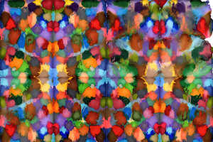 Artist Daniel Eatock Turns Colorful Ink into Symmetrical Works of Art