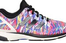 Technicolor Splatter Sneakers
