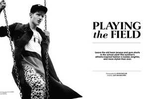 The Essential Homme June 2014 Photoshoot Stars Tino Thielens