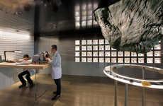 Rock Formation Lounges - Mathieu Lehanneur Designs a Space for Audemars Piguet Company