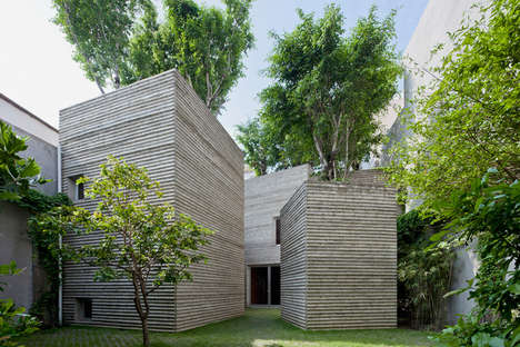 Tree-Focused Architecture - Vo Trong Nghia Architects Finds Green Space in Vietnam
