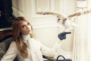 The Cara Delevingne x Mulberry Shoot Includes Cute Critters