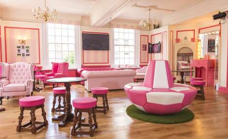 Female-Only Football Pubs - Benefit Cosmetics' Gabbi's Head Pub is a Women's World Cup Bar