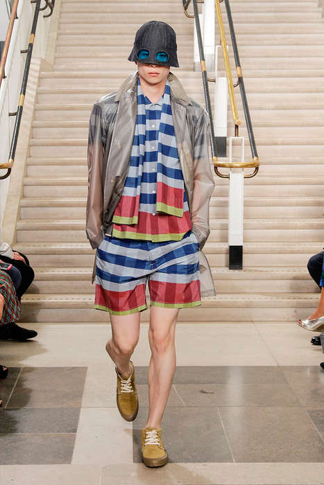 Edgy Rain Gear Runways - The YMC Spring/Summer 2015 Collection is