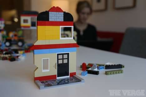 Augmented LEGO Sets - LEGO Fusion Blends Technology with Iconic Building Blocks