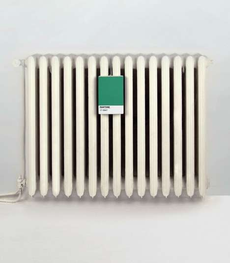 Porcelain Paint Chip Humidifiers - The Pantone Humidifier Brings Color & Style to a Basic Appliance