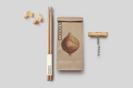 Holistic Produce Branding - Puree Organics Perfects the Look of Healthy Branding Identities
