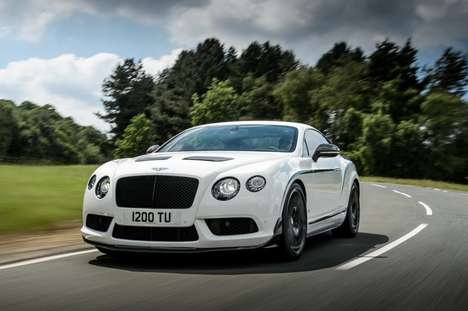 Aggressive Gentleman Autos - The Bentley Continental GT3-R Accelerates In Just 3.8 Seconds