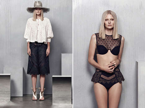 Breezy Island Beachwear - The Zimmermann Resort 2015 Collection is Bohemian, Sultry and Luxe