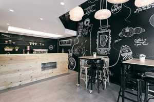 The Stock Coffee Shop Features an Informal Design