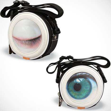 Bizarre Blinking Bags - This Hi-Di-Hi Winky Cross-Body Purse Winks At People As You Strut Your Stuff