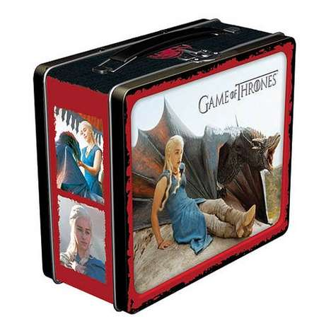 Fantasy Heroine Lunchboxes - This GoT Lunchbox Features a Print of the Mother of Dragons