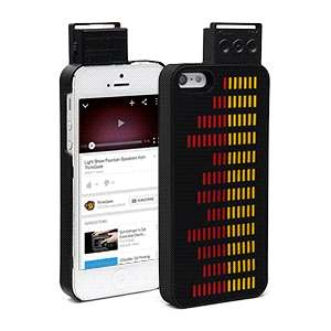 Chromatic Ambient Cases - The Equalizer Case for iPhone 5 Changes Color to Music