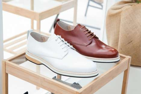 Inaugural Timeless Shoes - The WANT Les Essentiels de la Vie SS15 Footwear Collection is Fundamental