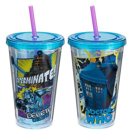Sci-Fi Sippy Cups - This Doctor Who Travel Cup is Great for Journeying Through the Galaxy