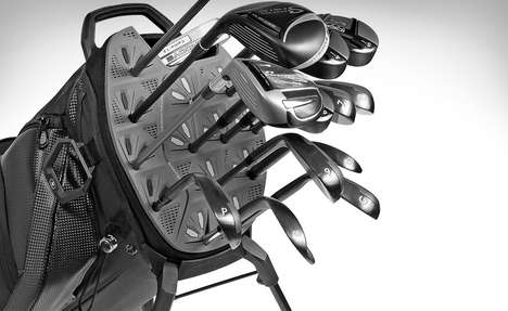 De-Clanking Club Carriers - The Ogio Silencer Golf Bag Allows People to Tee Off in Peace