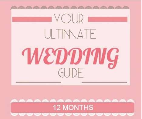 Monthly Matrimonial Infographics - The Pavilion Offers Brides-to-Be This Helpful Planning Infographi