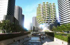 Vertical Farm Architecture - Aprilli Design Studio Creates an Urban Farm