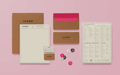 Simple Holistic Branding - Jugen's Boutique Branding Identity is Clean and Contemporary