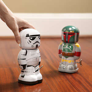 Windable Droid Toys - These Tin Wind Up Toys are Designed to Look Like Star Wars Characters