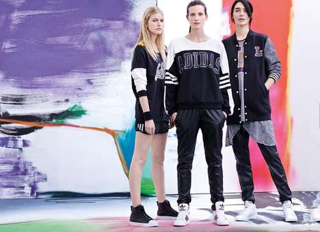 Youthfully Bold Sportswear - The Adidas Originals Catalog for Fall/Winter 2014 is Effortlessly Cool