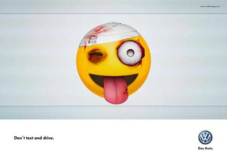 Beat-Up Emoji Ads - Volkswagen