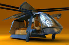 From Hybrid Land Helicopters to Single-Seat Helicopters