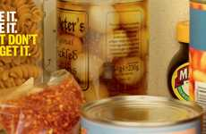 Neglected Condiment Ads - These Marmite Ads Show Spread Jars Hidden at the Back of a Cupboard