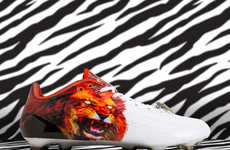 Roaring Rapper Cleats - Snoop Dogg Teams up with Adidas to Create the Adizero 5-Star Cleat