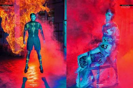 Fashion Superhero Editorials - Sport and Street