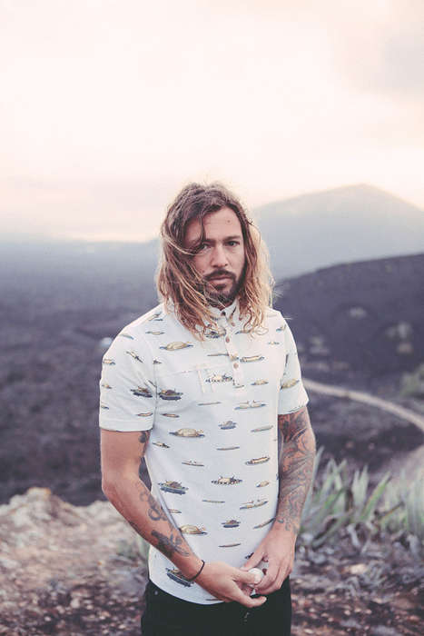 Rugged Mountaineer Lookbooks - The Driftwood Tales SS 2014 Lookbook Takes a Hike