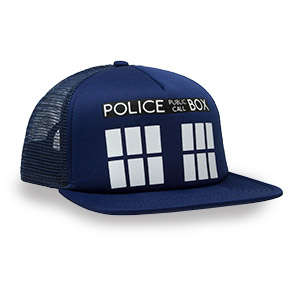 Time Machine Hats - This Doctor Who Hat is Designed to Look Like the Intergalactic TARDIS