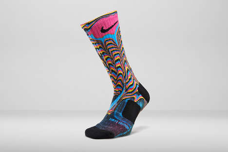 Digital Ink Socks - These Nike Elite Socks are CMYK-Inspired