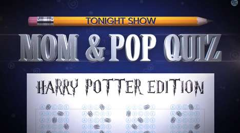 Wizarding Parental Pop Quizzes - This Tonight Show Segment Shows One Harry Potter Fail After Another