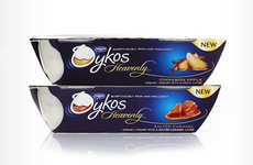 Decadent Dessert Yogurts - Oykos Heavenly is a Luxurious Greek Yogurt Dessert from Danone