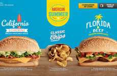 Satirical American Menus - McDonald's France Parodies American Meals in its Latest Menu
