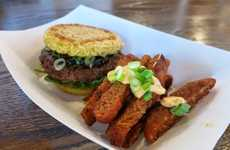 Crispy Noodle Fries - Keizo Shimamoto Created Ramen Fries as an Epic Burger Side Dish