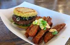 Crispy Noodle Fries - Keizo Shimamoto Created Ramen Fries as an Epic Burger Side Dish
