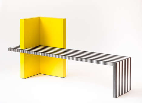 Linear Laminate Furnishings - Kelly Behun