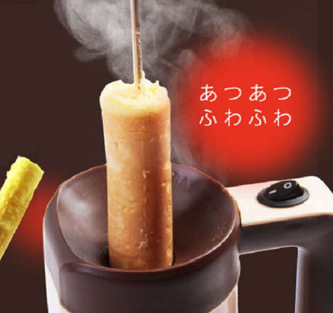 Pancake Lollipop Makers - Roky is a Handy Device for Making Pancakes on a Stick